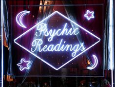 grunge, neon, and psychic image Witch Aesthetic, Purple Aesthetic, Rainbow Aesthetic, Quote Aesthetic, Slytherin, Tarot, Psychic Readings, Neon Lighting, Vaporwave
