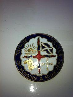 my badge from Perth College of Nursing 1994. Still proud    via Twitter @BethSwanson6