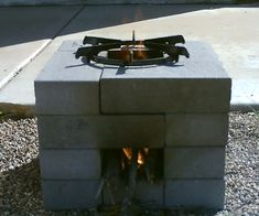 The 16 Brick Rocket Stove - Quick Second) Build - Easy DIY - Simple Instructions : 8 Steps (with Pictures) - Instructables Diy Rocket Stove, Build A Rocket, Rocket Stoves, Rocket Stove Design, Diy Generator, Homemade Generator, Outdoor Kocher, Diy Wood Stove, Diy Heater