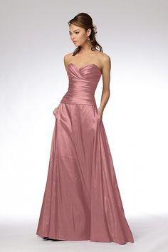 Pink bridesmaid dress i like this color or fall
