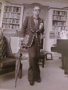 Check out Elton John @ Iomoio Elton John Costume, Elton Jon, Goodbye Yellow Brick Road, Bernie Taupin, Captain Fantastic, Taron Egerton, Vintage Velvet, Classic Rock, Film