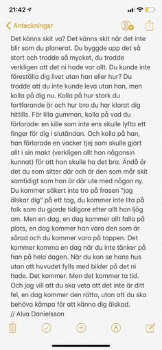 Du klarar det Sad Life Quotes, Love Quotes, Broken Love, Quotes About Everything, Vsco, Different Quotes, Deep Thoughts, Breakup, Texts