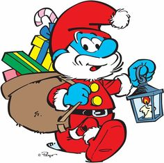 cartoons characters Merry Christmas everyone. Christmas Yard Art, Christmas Drawing, A Christmas Story, Kids Christmas, Christmas Cartoon Characters, Disney Cartoon Characters, Christmas Cartoons, Cartoon Character Tattoos, Smurf Village