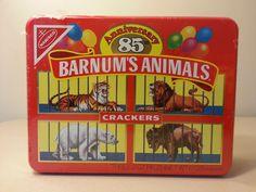 Barnum's Animals Crackers Keepsake Tin 85th Aniversery - Nabisco 1987 New Sealed #Nabisco On eBay!