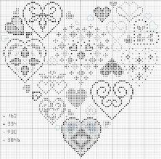 diferentes modelos de coração
