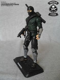 KAMAKURA ~ Gi joe Action Figure Customs