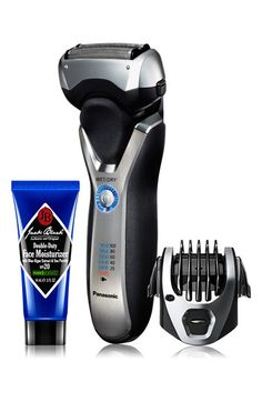 Not only will this Panasonic electric razor give Dad a good shave, but it's also super easy to use and easy to clean.
