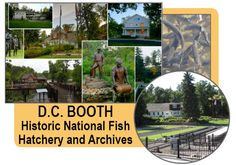 Established in 1896, D.C. Booth Historic National Fish Hatchery and Archives, formerly Spearfish National Fish Hatchery, is one of the oldest operating hatcheries in the country.  With over 155,000 visitors and 14,000 volunteer hours annually, the facility also strives to provide interpretive and educational programs for the public. #DCBooth #Hatchery #Spearfish