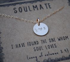 Hey, I found this really awesome Etsy listing at https://www.etsy.com/listing/264538782/soulmate-personalized-initial-couple