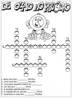 Notícias Ponto Com : Ideias para Atividades sobre HORAS - RELÓGIO - TEMPO -- Na Educação Infantil...