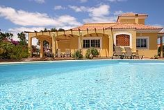 Delightful Villa With Private Pool, and views of the Championship Golf Course   Holiday Rental in Fuerteventura from @HomeAwayUK #holiday #rental #travel #homeaway