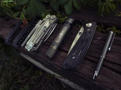 Leatherman••Bits + Leatherman••Wave + Solarforce••z2 + Kershaw••Injection 3.0 + Zebra••SL-F1