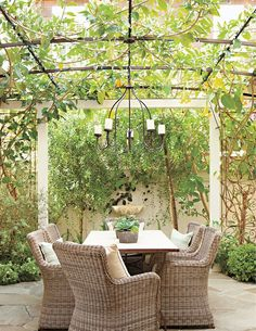 """via luxe - collected by linenandlavender.net for """"Alfresco-Outdoor Living"""" -  http://www.linenandlavender.net/2014/04/inspiration-file-outdoor-living.html"""
