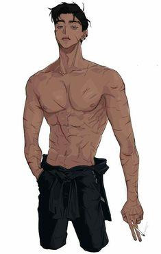 Fans d'anime pour les fans d'anime Art Manga, Manga Boy, Hot Anime Boy, Cute Anime Guys, Character Inspiration, Character Art, Character Sheet, Character Concept, Tierischer Humor