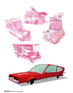 Illustration | Vehicles