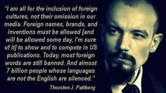 Pattberg Quote / Liberalization of Foreign Words