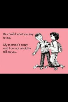This is what my sister's kids are gonna say LOL