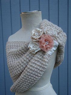 bridal Wedding Shrug Very Versatile  Design Of Mine