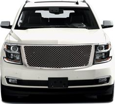Tahoe Suburban Chrome Mesh Style Replacement Grille Grill 1PC ABS OEM Plastic #RestylingIdeas #BilletGrille