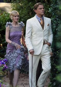 The Great Gatsby Leonardo DiCaprio, Carey Mulligan.