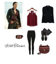 """Will Turner #1"" by dance-monster on Polyvore featuring Uniqlo, Alberto Biani, Rick Owens and modern"