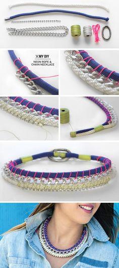 Vous voulez être tendance et porter des bijoux tendances et uniques ? Créez les vous-même ! Astuces de Filles vous propose quelques tutos canons pour des colliers ultra tendances !...