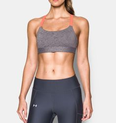 Under Armour Women's Armour® Eclipse Mid — Heather Sports Bra