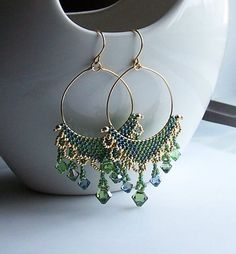 Special Treasure earrings by MilestoneJewelry on Etsy, $44.00