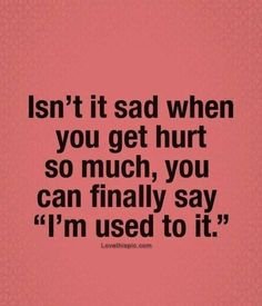 Isn't It Sad When...