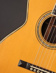 This Martin 00-30 from 1903 has a quality of tone that is purely sublime, combining the best aspects of steel and gut into one magical instrument. Martin Acoustic Guitar, Small Bridge, Hard Pressed, Guitars, At Least, Music Instruments, Delicate, Steel, Pearls