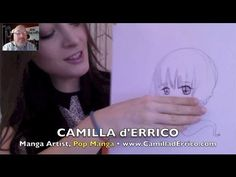 Artist Camilla d'Errico puts real life in her surreal Pop Manga! VIDEO INTERVIEW