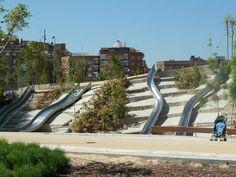 Locations of Interest in Madrid. Madrid Rio Park