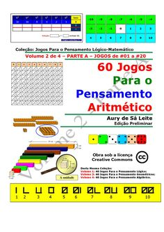 Jogos pedagógicos com cartões e tabuleiros, na área de aritmética. São dedicados às escolas com períodos de 8horas-aulas e para grupos da terceira idade. Há jogos Solitários e propostas para a criação de novos jogos.