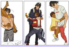 Lance what are you doing. It's too cute stop