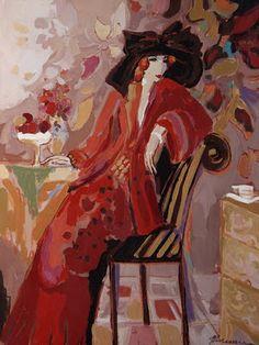 Mujeres en la pintura por el artista israelí Isaac Maimon ~ Blog de un admirador del arte