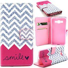 Galaxy Grand Prime Case,IVY [Wave Smile][Kickstand Flip Case][Credit Cards Slot][Cash Pockets][Slim Fit] Premium Synthetic Leather Flip Cover Wallet Case for Samsung Galaxy Grand Prime G530H G5308 Ivy http://www.amazon.com/dp/B013YFOXE6/ref=cm_sw_r_pi_dp_V7i8vb1ZSXD52