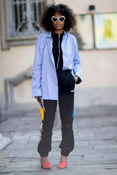 The Milan Fashion Week Street Style Looks We Want To Copy - Milan Fashion Week Street Style SS17 from InStyle.com
