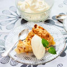 Världens godaste äppelsmulpaj | Recept ICA.se