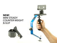 Steady-cam for DSLRs/Iphones/GoPros. And affordable.