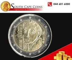 Tuesday Trivia with South Cape Coins this week brings you Commemorative coins from Europe. Up to 2012, a hundred and thirty-four variations of €2 commemorative coins have been minted and only the one side differs in each case. They mark special occasions or events in history. #rarecoins #coins #investments