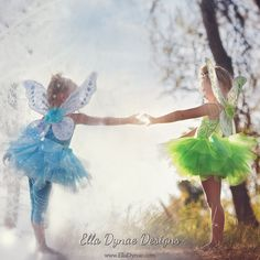 Deluxe Tinkerbell Disney Inspired Fairy Costume by EllaDynae