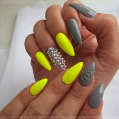Yellow Nails - 28 Best Yellow Nails for 2018 - Best Nail Art