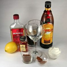 Flaming Spanish Coffee Recipe: Assemble Ingredients for Flaming Spanish Coffee