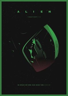 Alien #alternative #movie #art #poster #complex #illustration #film #creative