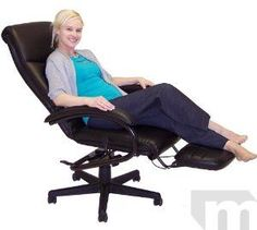 Reclining Office Chairs - Reclining Desk Chair, Recliners: