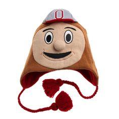 Ohio State University OSU Buckeyes Fleece Hat Newborn Boy Girl Children /& Adult