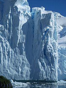 ice cliff