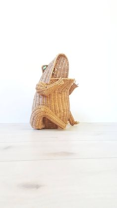 Your place to buy and sell all things handmade Rattan, Wicker, Vintage Storage, Magazine Holders, Large Baskets, Towel Holder, Storage Baskets, Kids Room, Mid Century