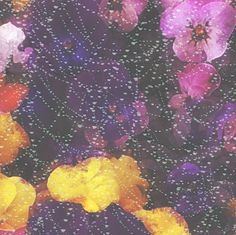 violets and pearls fabric by kociara on Spoonflower - custom fabric