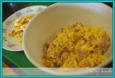 Scrambled Eggs - after  Loving Lunches